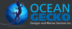 Ocean Gecko Designs and Marine Services Logo
